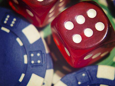Dice, Gamble, Poker, Chips, Jackpot, Win, Chance