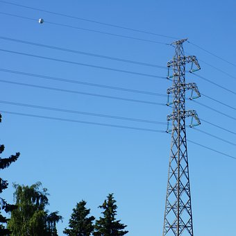 Power Line, Electricity Pylon, Electricity Supply