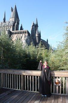 Hogwarts, Harry Potter, Universal, Park, Costume, Girl