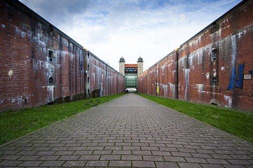 Boat Lift, Ship Lock, Waltrop Germany, Henrichenburg