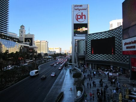Paris Hotel, Las Vegas, Strip, Planet Holywood, Hotel