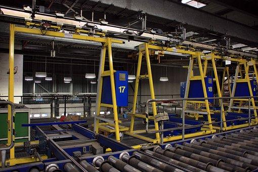 Overhead Conveyor, Industry, Factory