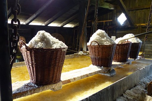 Salt, Baskets, Industry, Tradition, Sea Salt