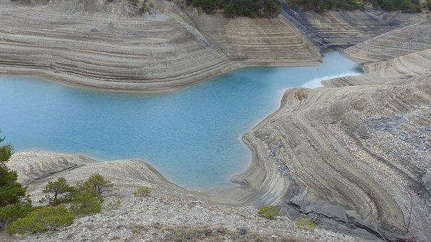 Landscape, Lake, Contour Line, Relief, Nature, Water