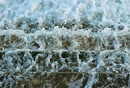 Water, Flow, Steps, Sea, Flowing, Liquid, Splash
