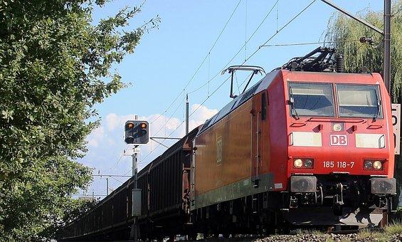 Train, Freight Train, Locomotive, Deutsche Bahn, Db