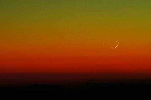 Moon, Hue, Astronomy, Nature, Sunset, Sunrise, Night