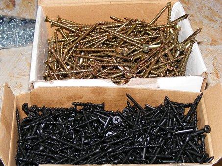 Screws, Nuts, Bolts, Industries, Steel, Tool, Industry