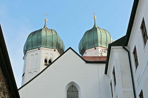 Churches, Church, Onion Dome, Turrets, Spire