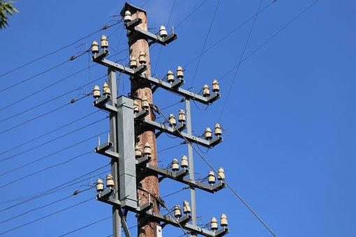 Telephone Lines, Overhead Power Lines, Phone