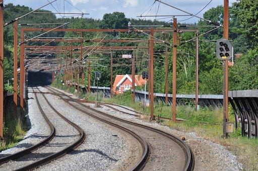 Railway, Track, Transportation, Rail, Railroad