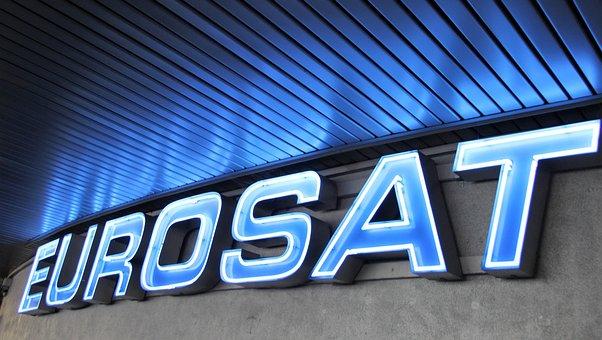Eurosat, Roller Coaster, Lettering, Europa Park, Rust