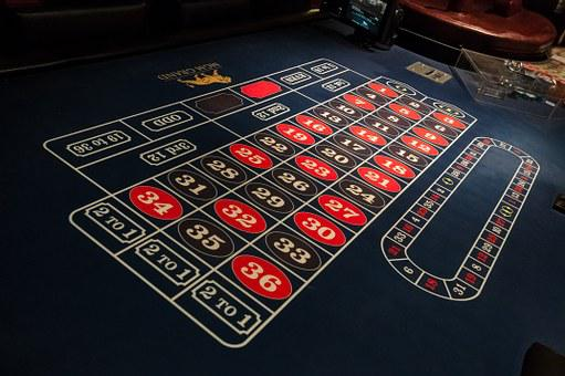 Gaming Table, Roulette, Las Vegas