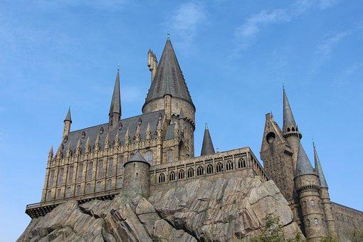 Castle, Sky, Architecture, Landscape, Stone