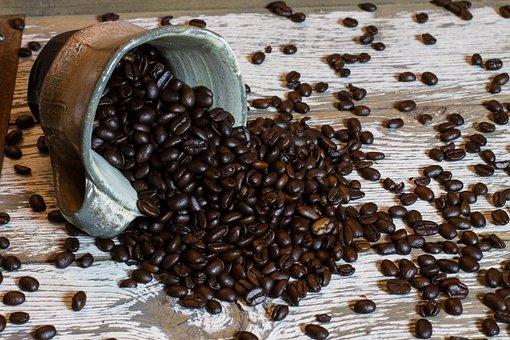 Coffee, Mug, Coffee Mug, Cup, Spill, Coffee Beans