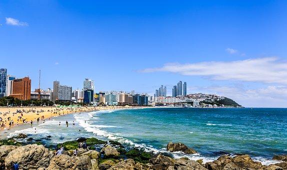 Coast, Beach, Travel, Summer, Blue Sky, Sky, Water