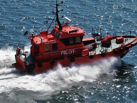 Swedish Pilot Boat 746se, Gothenburg, Baltic Sea, Boot