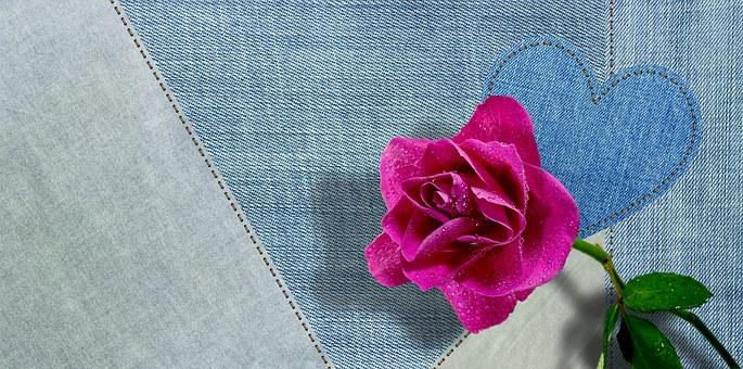 Jeans, Fabric, Blue, Clothing, Structure, Textile