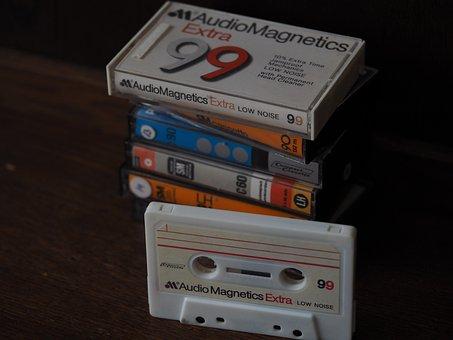 Casette, Compact Casette, Cassette, Analog, Tape, Music