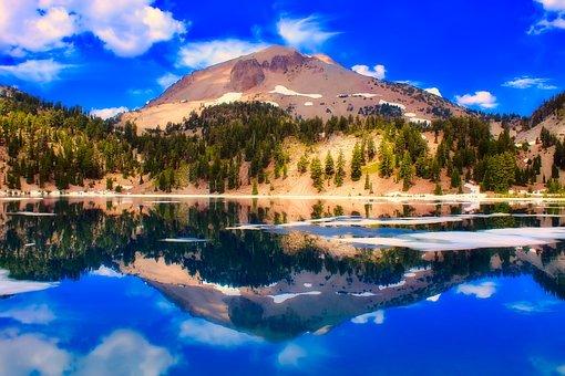 Lassen Volcanic National Park, California, Volcano