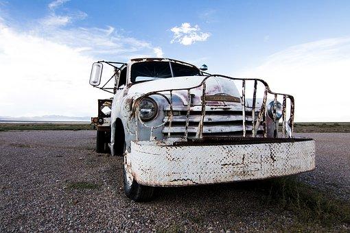 Pickup, Chevrolet, Usa, America, Nevada, Alien, Area 51