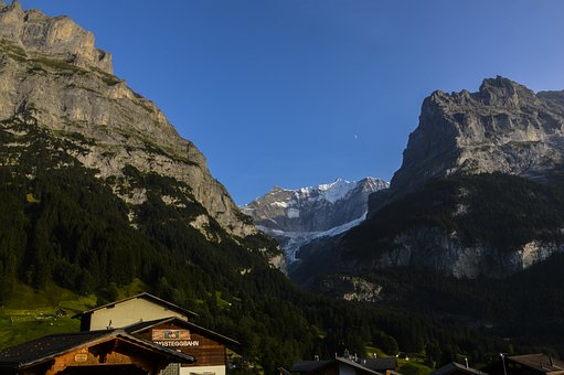 Grindelwald, Eiger North Face, Kleine Scheidegg