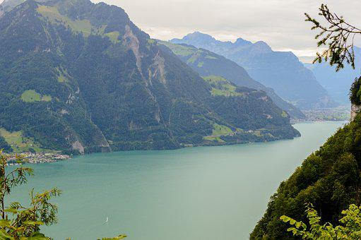 Lake, Bergsee, Alpine, Alpine Landscape, Mountains