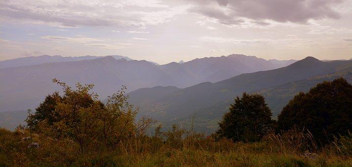 Mountain, Baldo, Nature, Italy, Mountains, Landscape