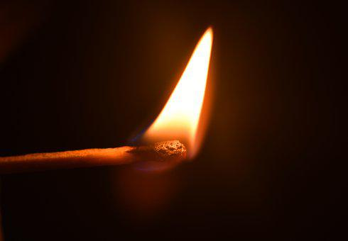 Fire, Match, Flame, Matches, Hot, Ignite, Burn