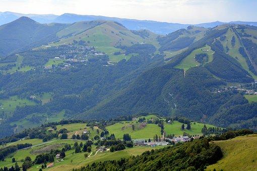 Hills, Mountain, Green, Italy, Trentino, Baldo, Hill