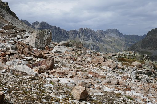 Mountains, Clouds, Alpine, Mountain Landscape