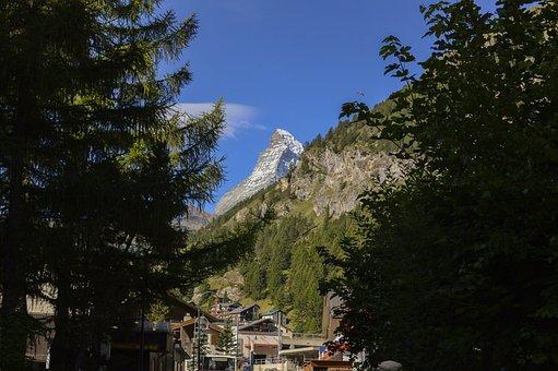 Matterhorn, Zermatt, Switzerland, Alpine, Mountains