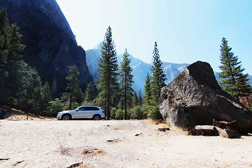 Yosemite, Bmw, Outlook, Panorama, Mountains