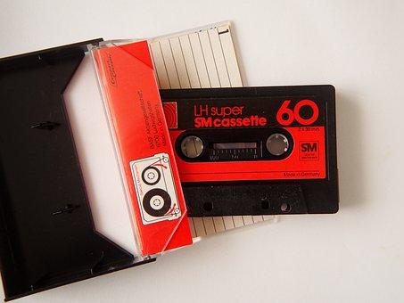 Cassette, Music Cassette, Music, Analog, Magnetband