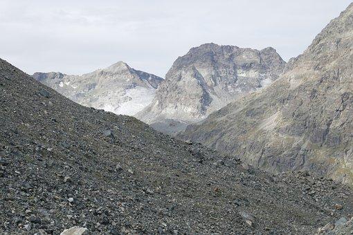 Mountains, Stones, Nature, Rock, Sky, Boulders, Cairn