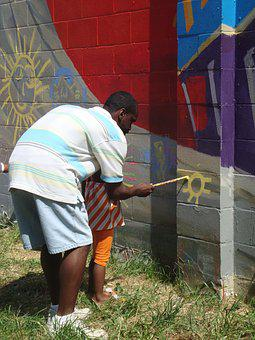 Teach, Artist, Community, Kids, Paint, Neighborhood