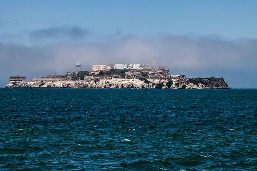 Alcatraz, Prison, Island, San Francisco, California