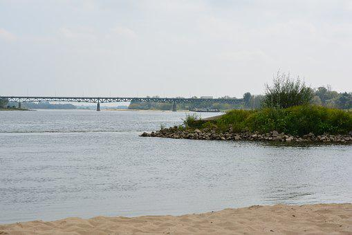 River, Beach, Water, Riverbank, Wisla, Landscape