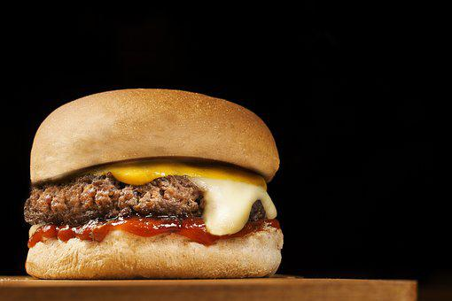 Burger, Fast Food, Sandwich, Gourmet, Cheddar, Snack