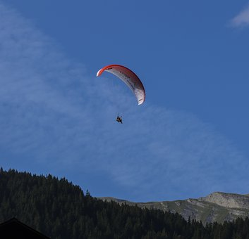 Paragliding, Airy, Fly, Paraglider, Sky, Air Sports