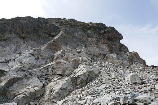 Mountains, Rock, Landscape, Sun, Stone Desert, Nature
