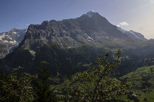 Eiger North Face, Grindelwald, Swiss Alps, Wetterhorn