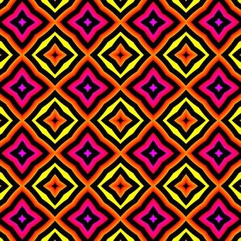 Patroon, Kleuren, Modern, Vorm, Helder, Textuur