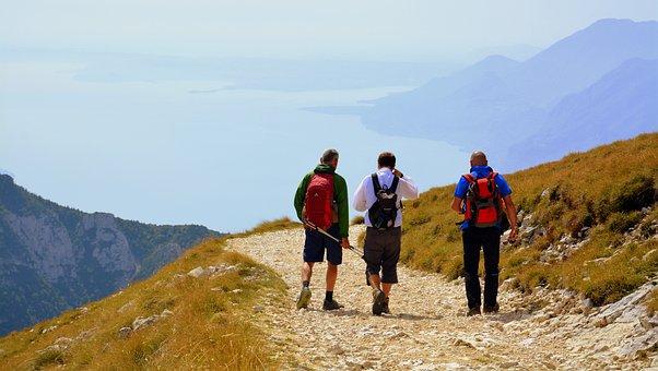 Trail, Walk, Trekking, Excursion, Landscape, Lake