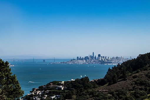 San Francisco, View, Booked, Panorama, Sea, Landscape