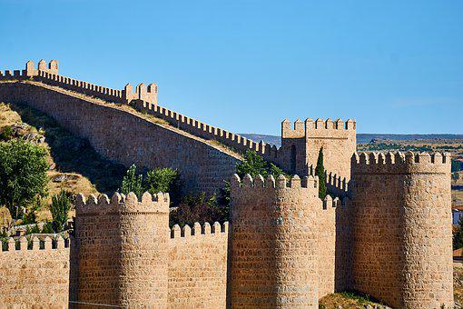 Spain, Avila, Unesco World Heritage Site, Historically
