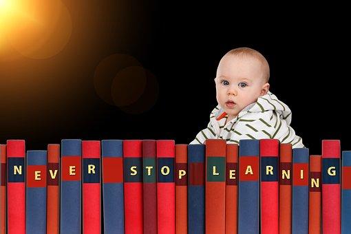 Learn, Baby, School, Nursery School, Board, Sun