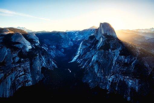 Yosemite National Park, California, Canyon, Gorge