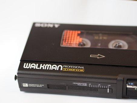 Casette, Compact Casette, Walkman, Basf, Music, Analog