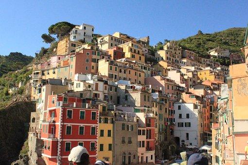 Cinque Terre, Italy, House, Color